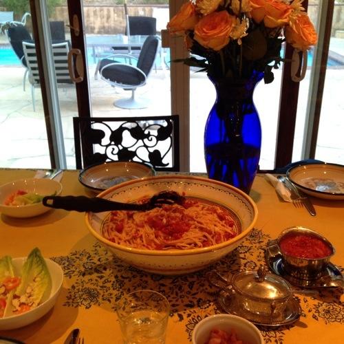 cheesy tomato pasta table.jpg