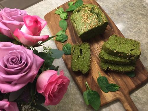 green bread flowers sliced IMG_4612