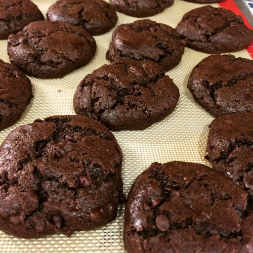 gooey choc cookie