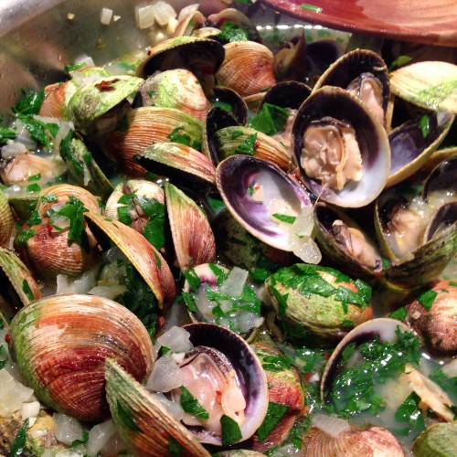 clams in pan 2.JPG