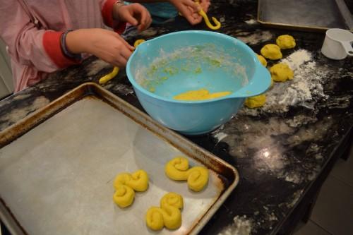 rolling dough saffron.JPG