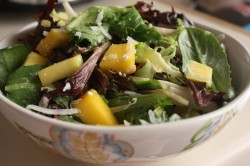 mango coconut salad