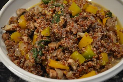 quinoa risotto 4