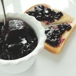 bberry jam and bread