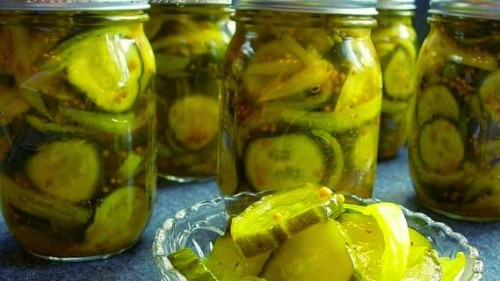 bread and butter pickles 5