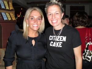 Anna Lingeris & Chef Elizabeth Falkner