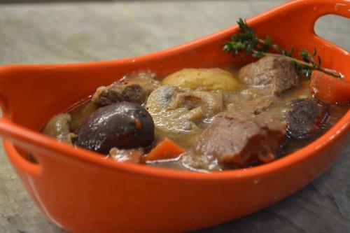 guin stew orange plated