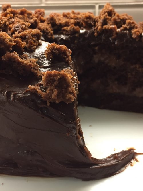 recipe: chocolate pudding filling for cake [17]