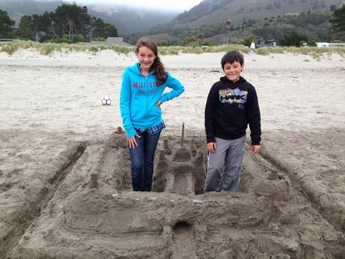 sand castle stinson